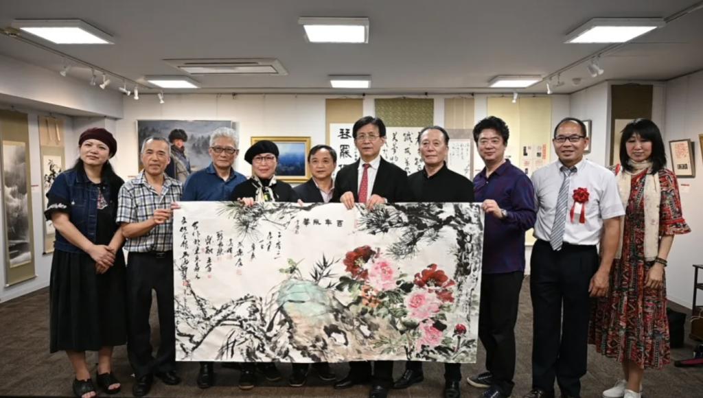 「風華百年書道写真展」開催